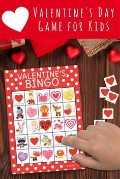 great valentines day game for school parties or home reusable