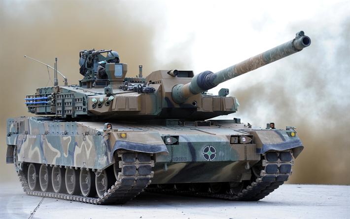 Download Wallpapers K2 Black Panther 4k Main Battle Tank South Korean Tank Army Modern Armored Vehicles Besthqwallpapers Com Muharebe Tank Ordu