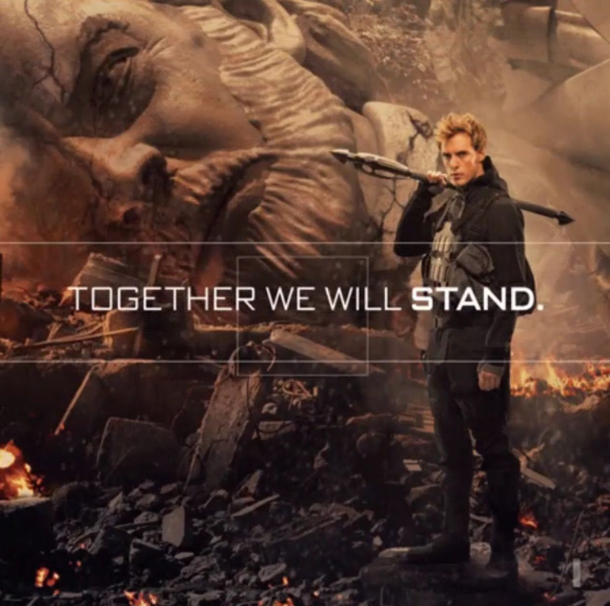 (1/2) We are Panem...  #DownwithSnow #OnePanem