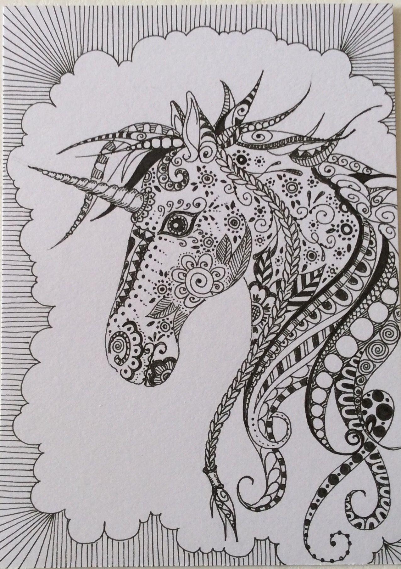 Unicorn Coloring Book Art Coloring Books Unicorn Art