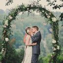 Rustic Wedding Arches | ... Upon a Midnight – Rustic Blue and Peach Wedding Inspiration Request
