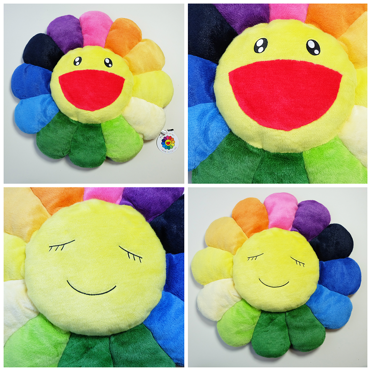 Kawaii Kaikaikiki Takashi Murakami Flower Pillow Cushion