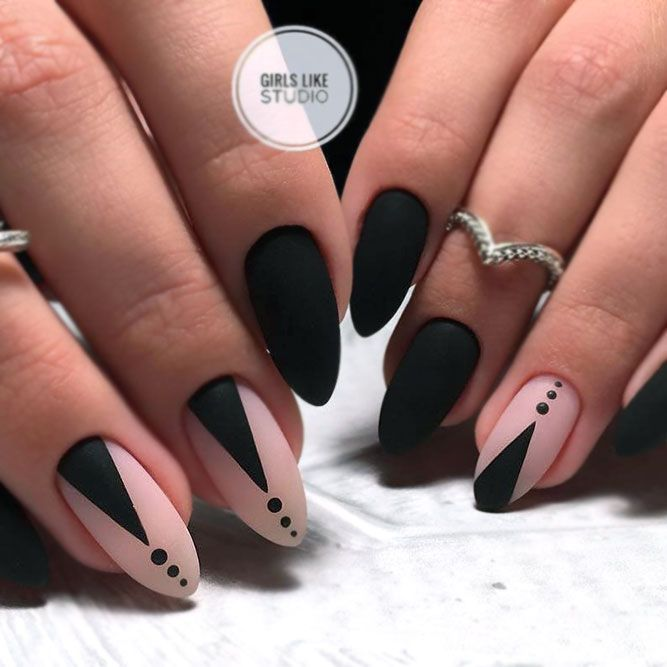 How To Get Cool Matte Nails: 20 Designs That Will Thrilled Your Imagination #mattenails