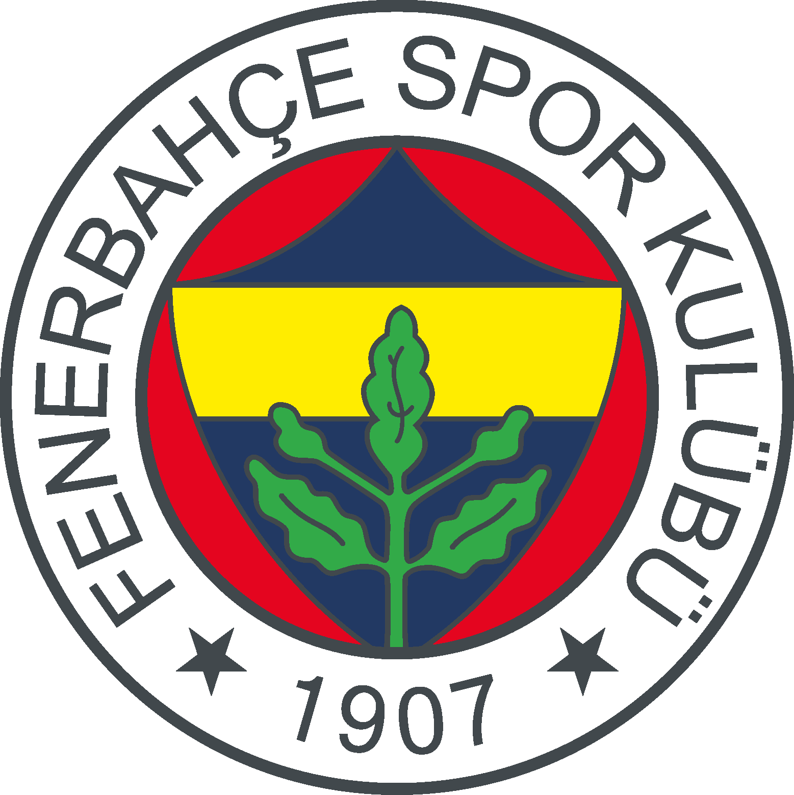 Fenerbahce Futbol Takimi Logo Football Team Logos Soccer Logo Football Logo