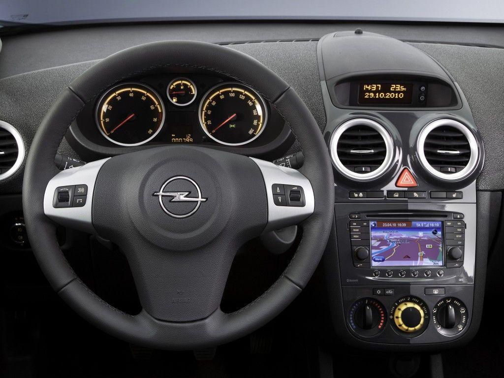 Dashboard Opel Corsa D  |     IL Y A TOUJOURS DE LUMIERE