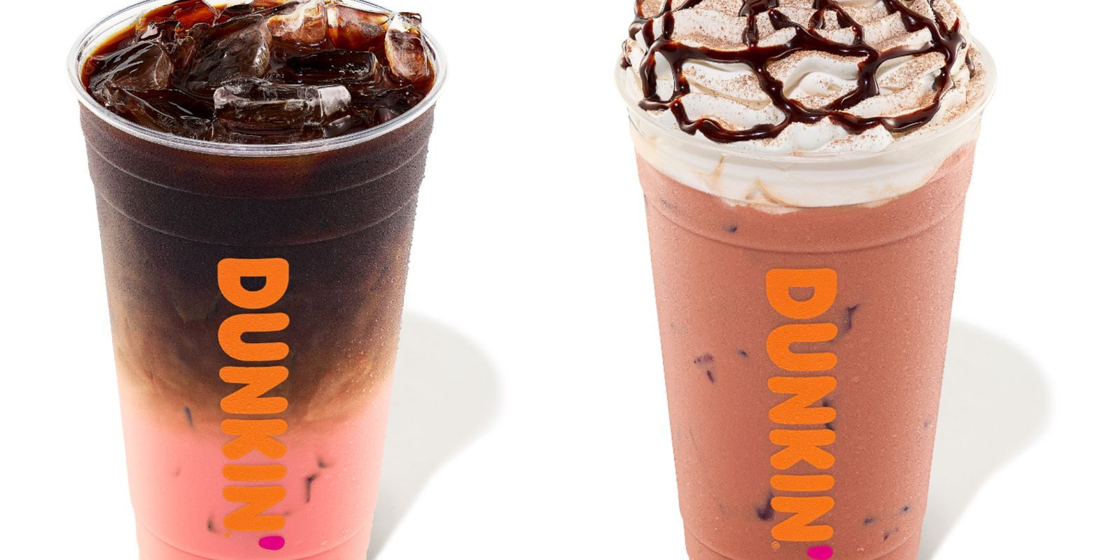 Dunkin' Has A Line Of Pink Velvet Coffee Drinks And