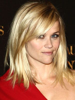 Reese Witherspoon Medium Haircut Reese Witherspoon Shoulder Length