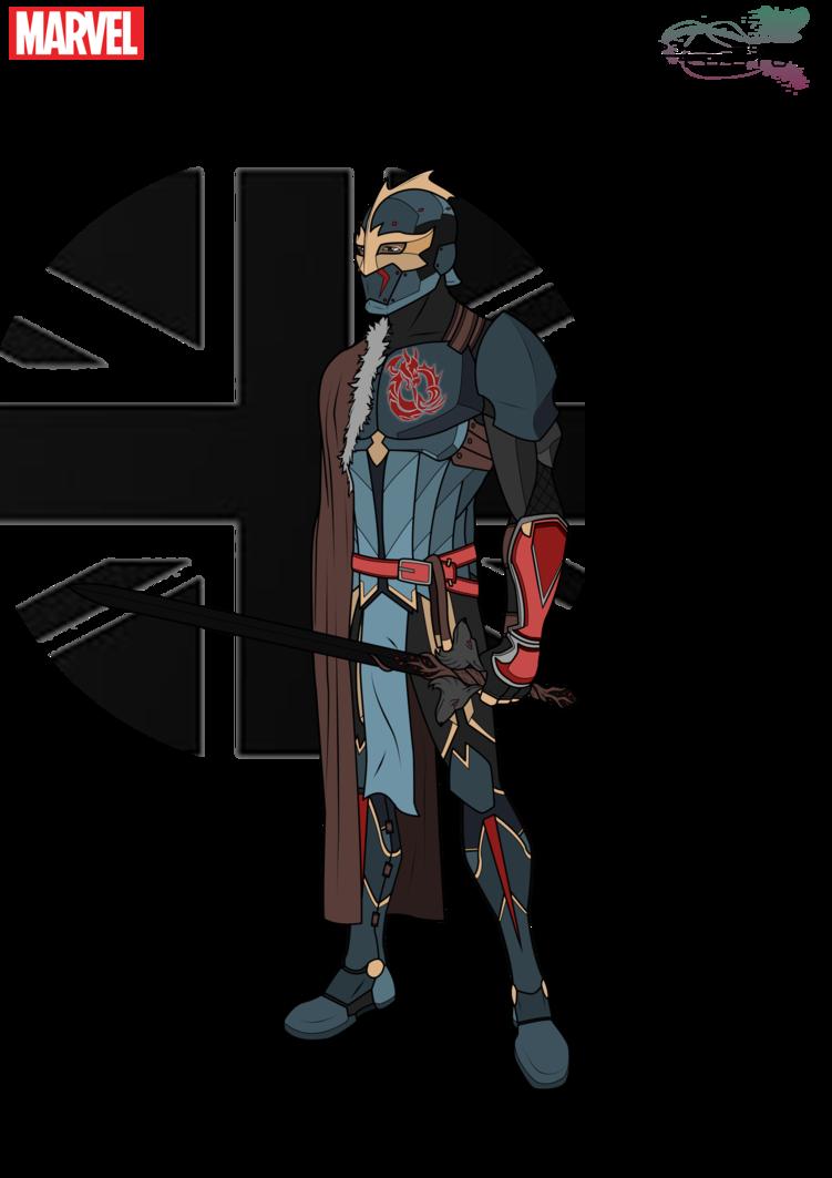 The Black Knight By Phoenixstudios91 On Deviantart Marvel Characters Art Marvel Heroes Blackest Knight