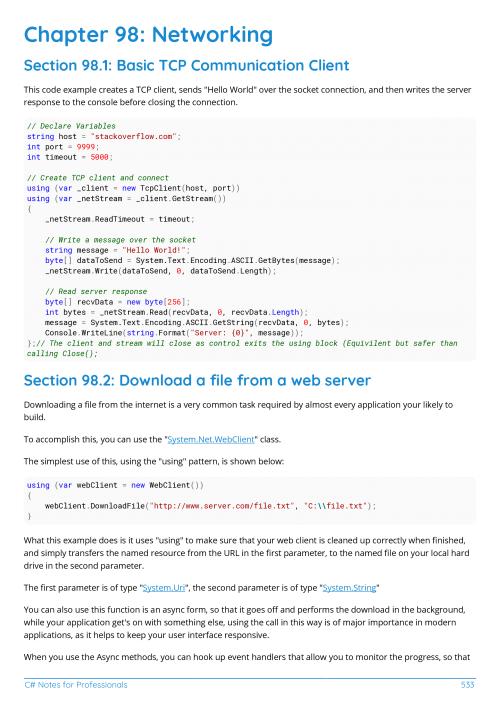 C# Example Page 3 | studies in 2019 | C programming book, C