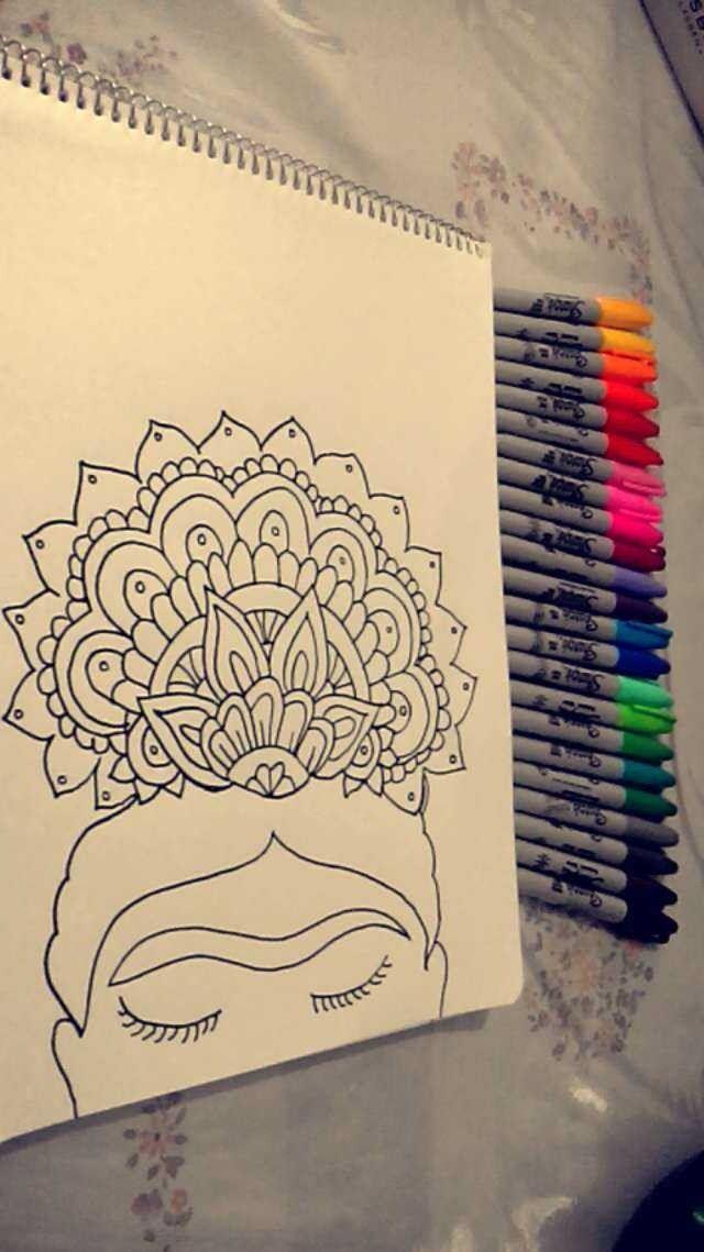 Frida kahlo  Mandalas