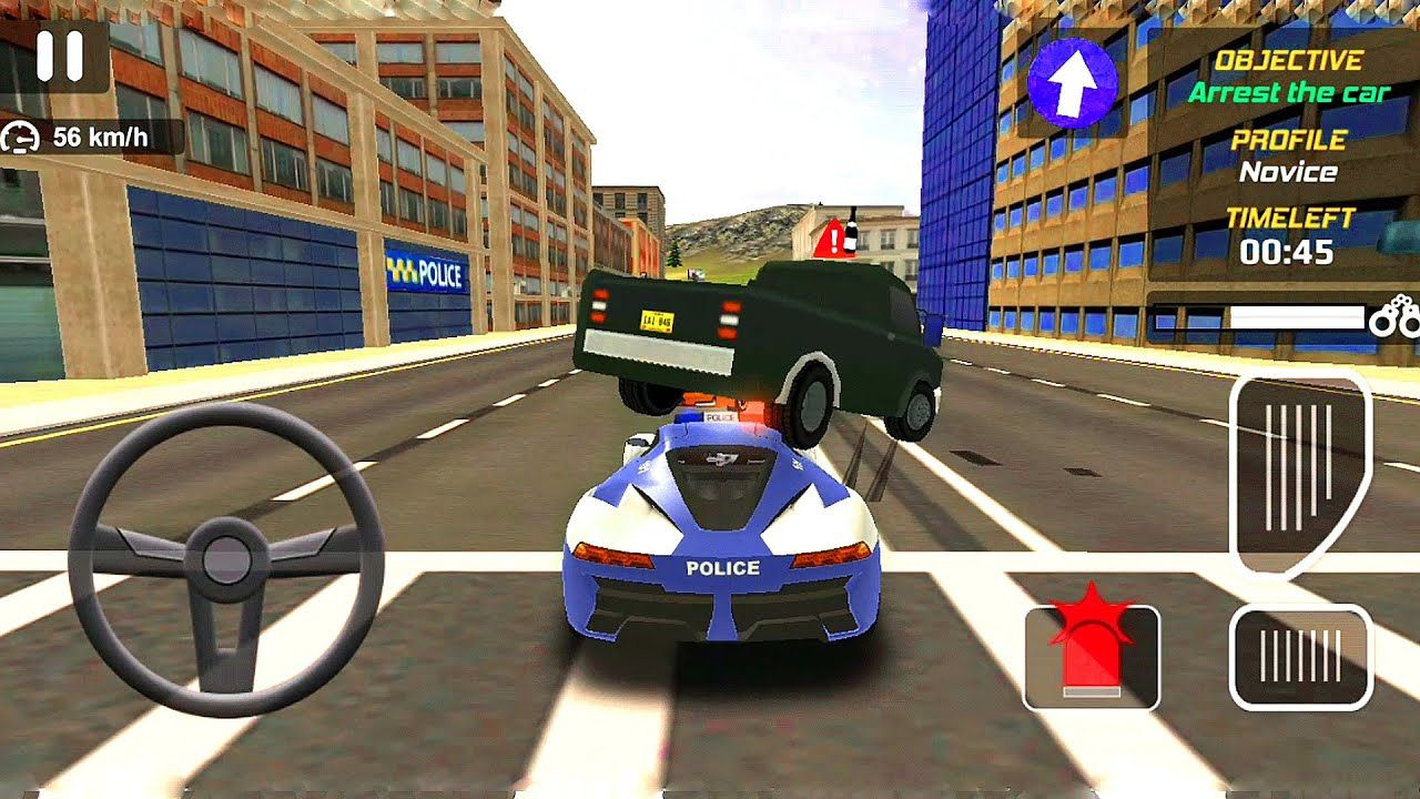Pin By Android Game On Offroad Gameplay Police Car Chase Car Games Chasing Cars