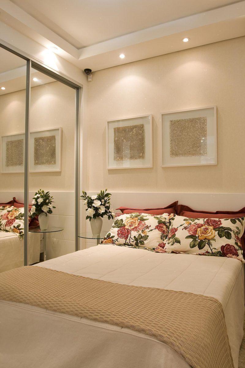 Schlafzimmer Einrichtungsideen · 95+ Quartos De Casal Pequenos E Simples  Decorados