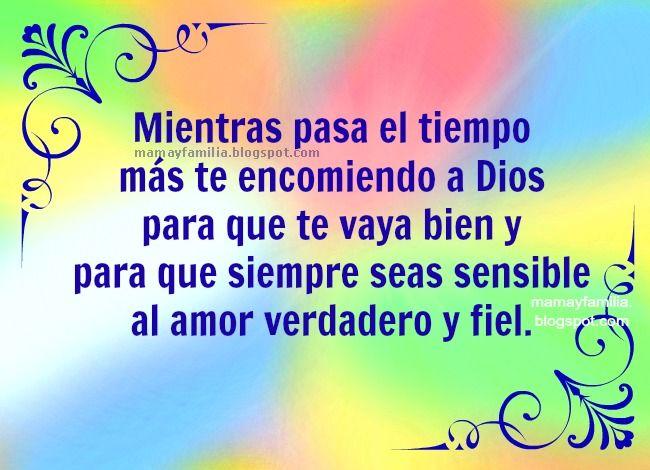 Palabras De Amor Bendicion Hijo Hija Imagenes Cristianas Versos