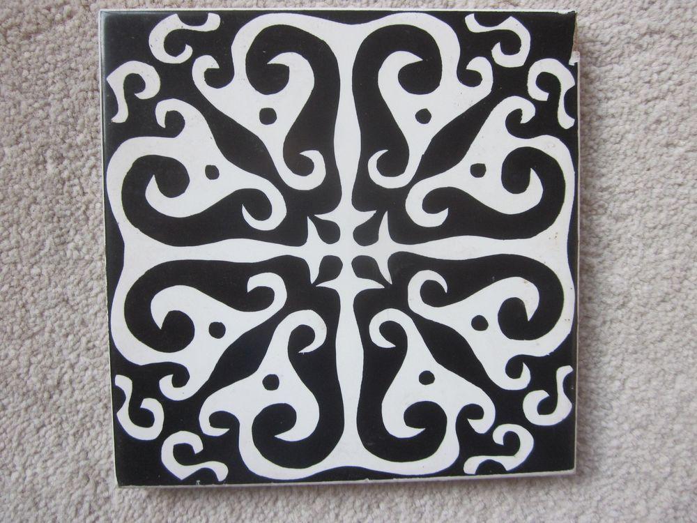 Vintage Pilkington Carter Tile Antique Tiles Ceramic Pottery Tiles
