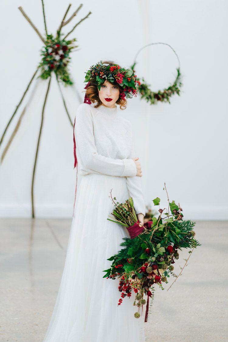 Red & Green Winter Wonderland Wedding Ideas   Winter ...