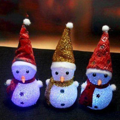 #BlackFriday LED de la Lámpara del Muñeco de Nieve Tan Solo EUR 1,59 JUEJA Novelty