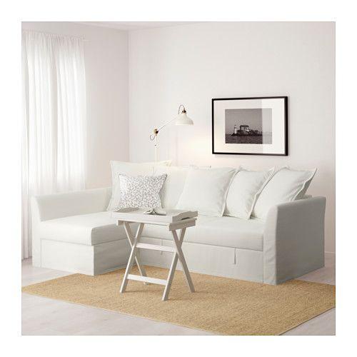HOLMSUND Divano letto angolare IKEA Fodera in cotone resistente, con ...