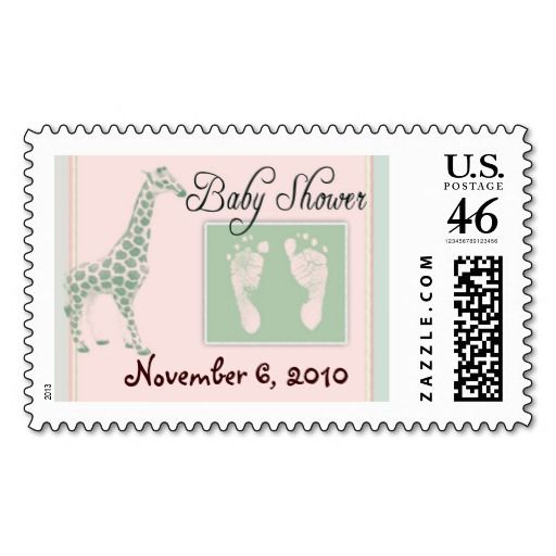 And Green Usps Baby Shower Stamps