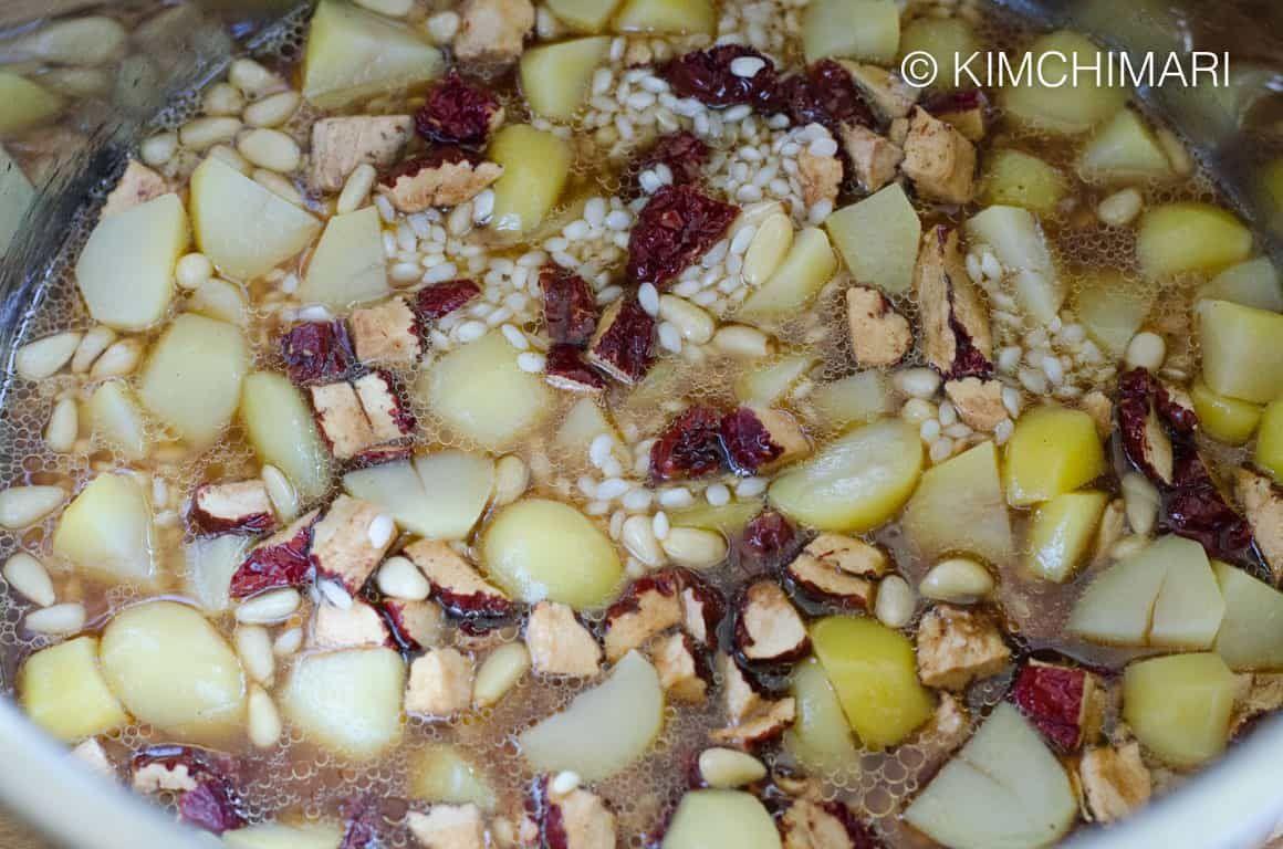 Instant Pot Yaksik - Sticky Rice Dessert | Recipe | Korean ...