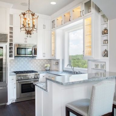 Small U Shaped Kitchen Design Ideas Pictures Remodel And Decor House Design Kitchen Kitchen Design Small Tiny Kitchen Design