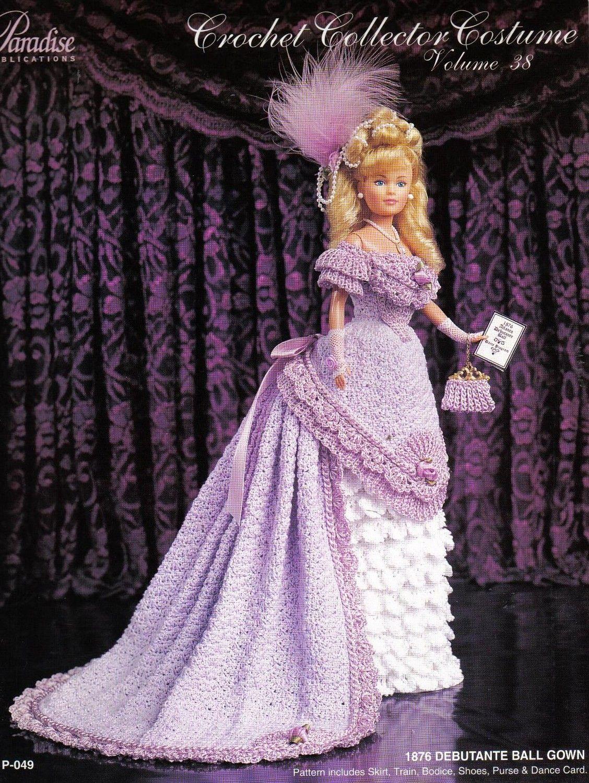 Free Doll Patterns Crochet Doll Dress Doll Dress Crochet Doll Clothes