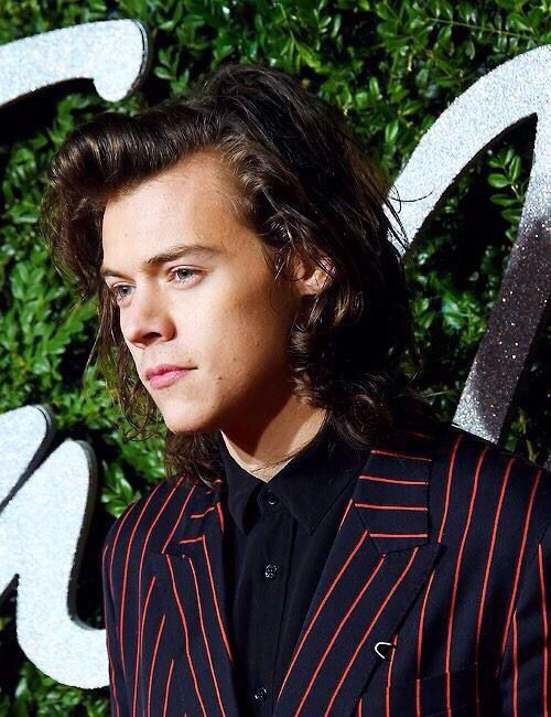 Harry Styles at the British Fashion Awards - Dec. 1