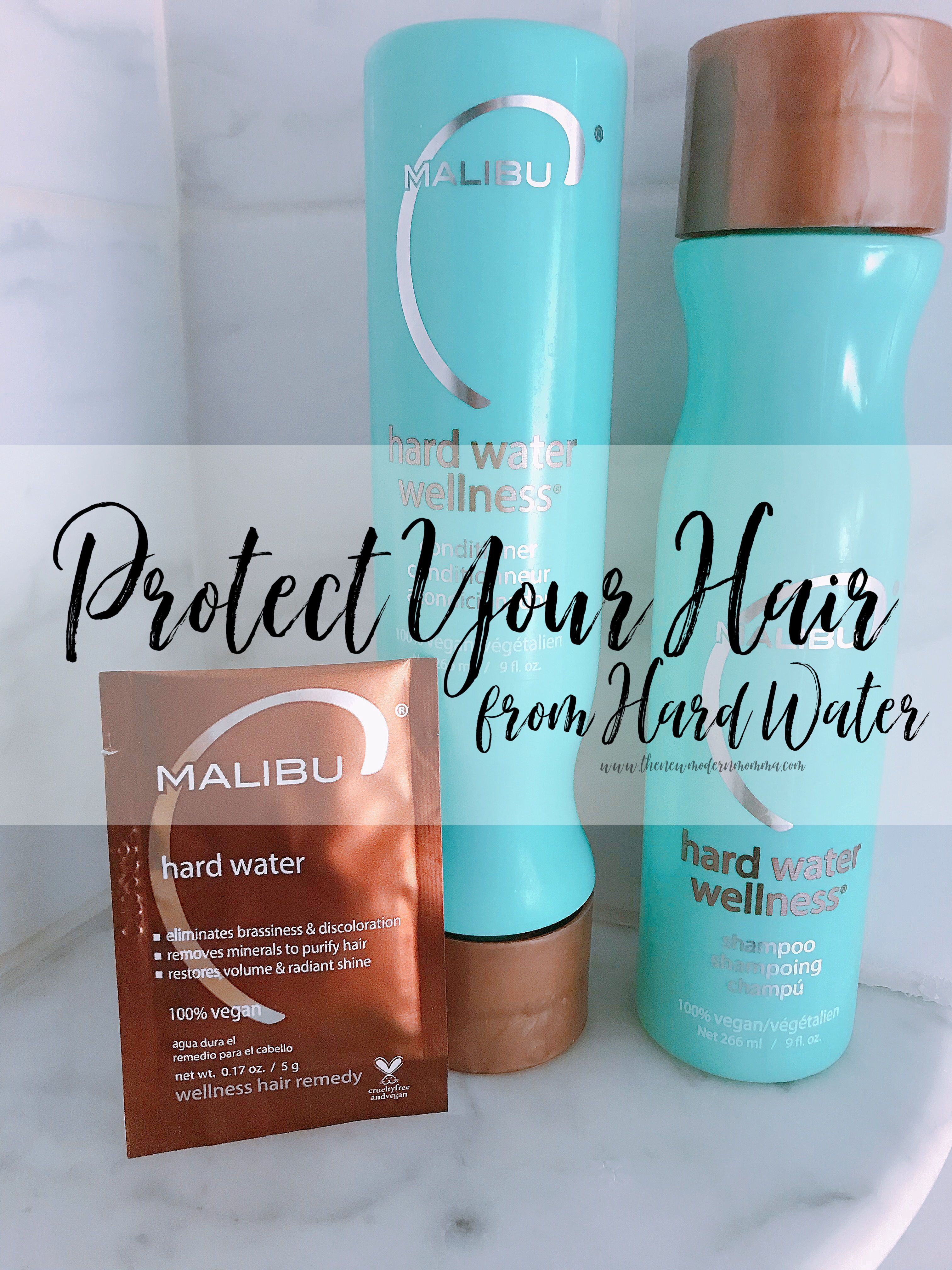 How To Protect Your Hair From Hard Water The New Modern Momma Hard Water Hair Shampoo For Hard Water Your Hair