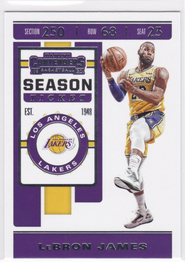 Milwaukee Bucks MVP 2019-20 Panini Absolute LEBRON JAMES Mint Basketball Card