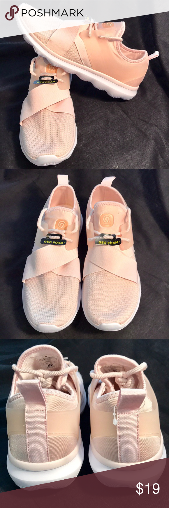 b8256cd7a0f NWT   Champion   Walking Shoe New With Tag   Light Pink with sock-like