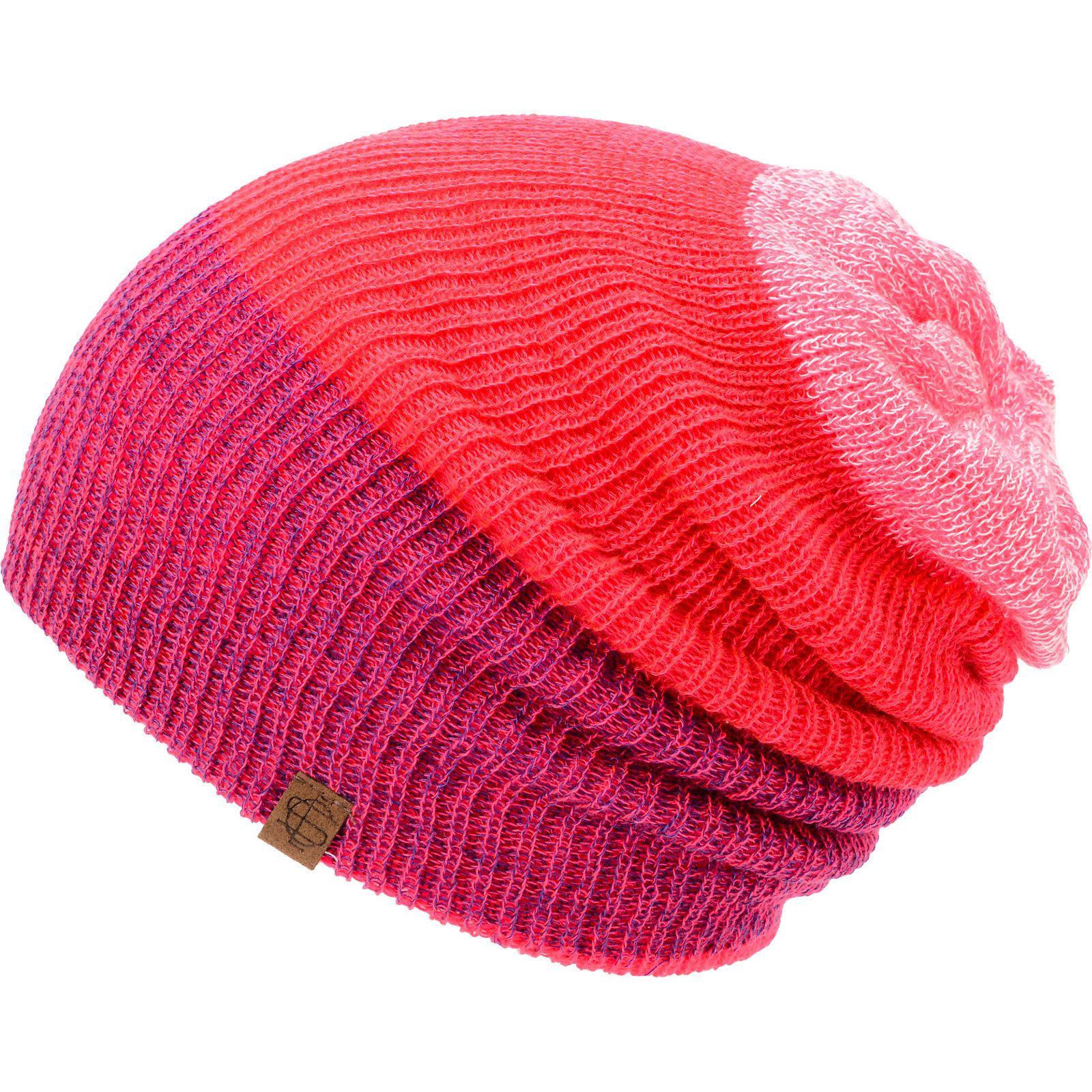 375575818b179 Empyre Girls Tabor Neon Pink Reversible Beanie at Zumiez   PDP ...