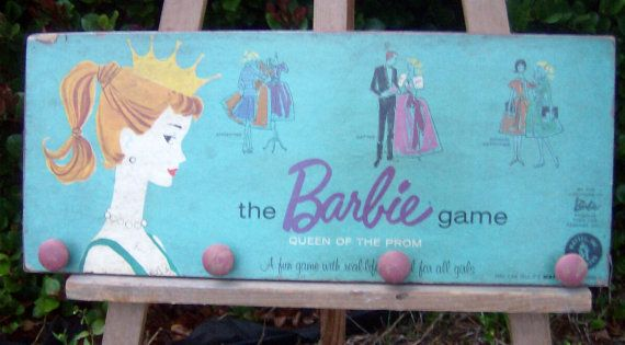 Vintage Barbie Queen of the prom upcycled game box by ATouchofChic, $25.00