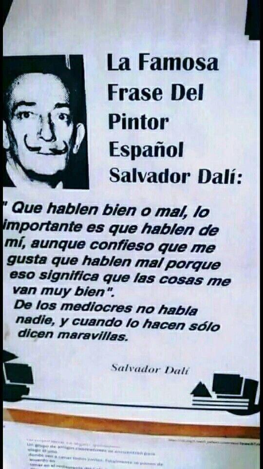 Frases Celebres Frases Celebres Frases De Salvador Dalí Y