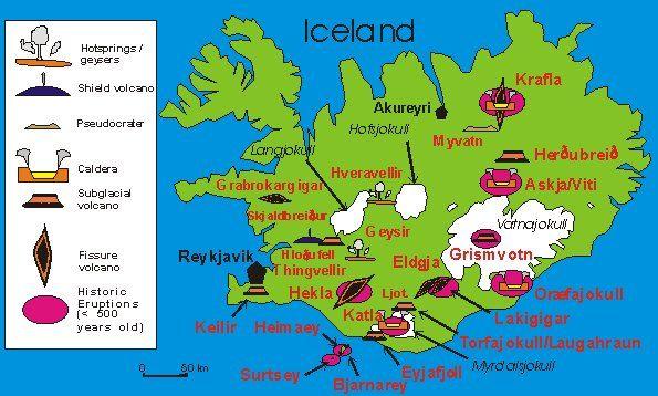 Iceland Volcano World Oregon State University Travel
