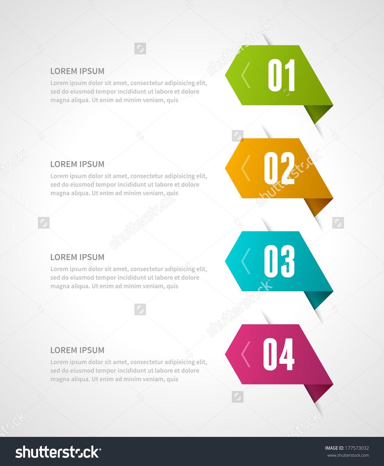 Business step options banner. Vector illustration. Infographics design template.