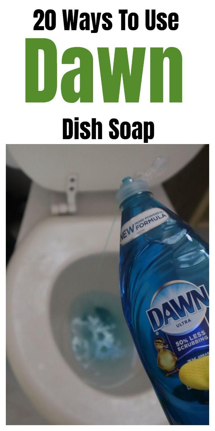 20 Ways To Use Dawn Dish Soap
