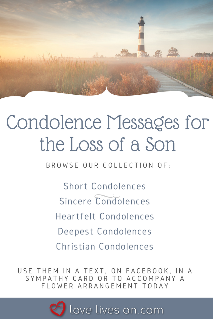 How To Write A Sympathy Card For Loss Of Son Cardjdi