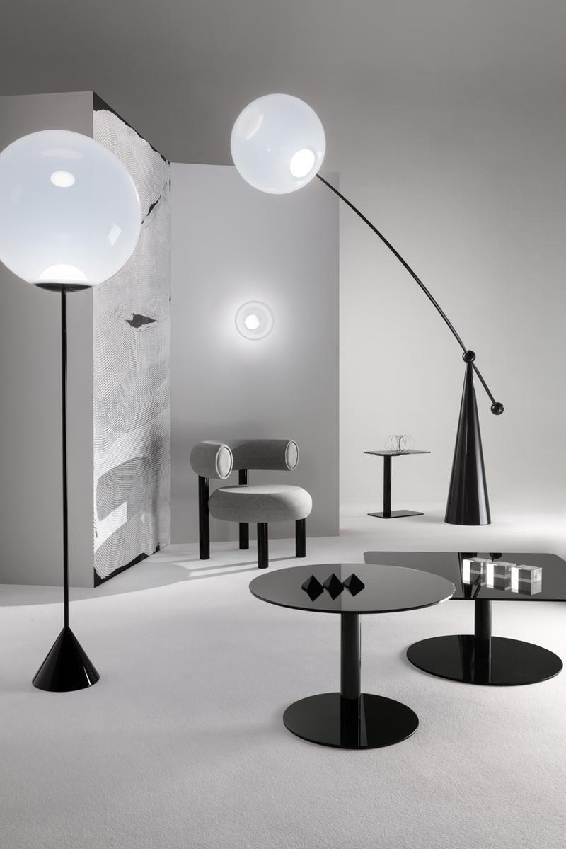 Tom Dixon Wants People To Remember The Joy Of Using Their Senses Geometric Lighting Led Floor Lamp Minimalist Furniture