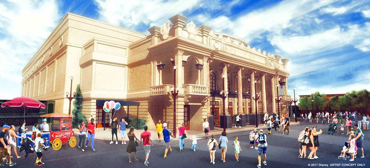 Main Street U.S.A Theatre Magic Kingdom