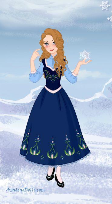 My Frozen Oc By Chiisancullen On Deviantart Azalea Dress Up Disney Movie Characters Dress Up Dolls