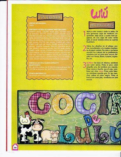 Revistas de Foamy gratis: moldes vaquitas foamy