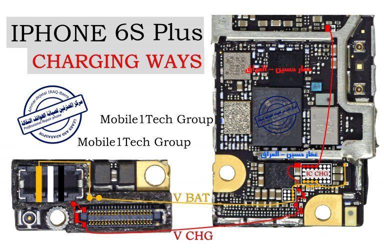 iPhone 6 Plus Charging Solution Jumper Problem Ways No ...