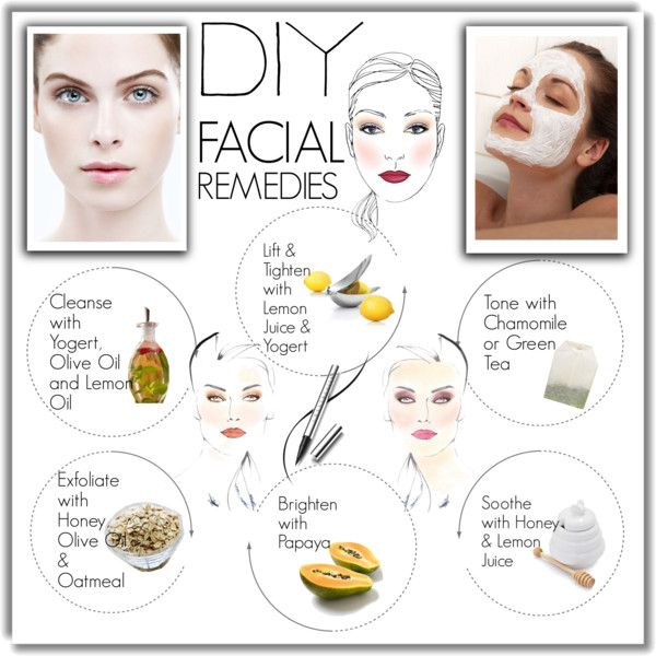 """DIY - Facial Remedies"" by pmcdl on Polyvore"