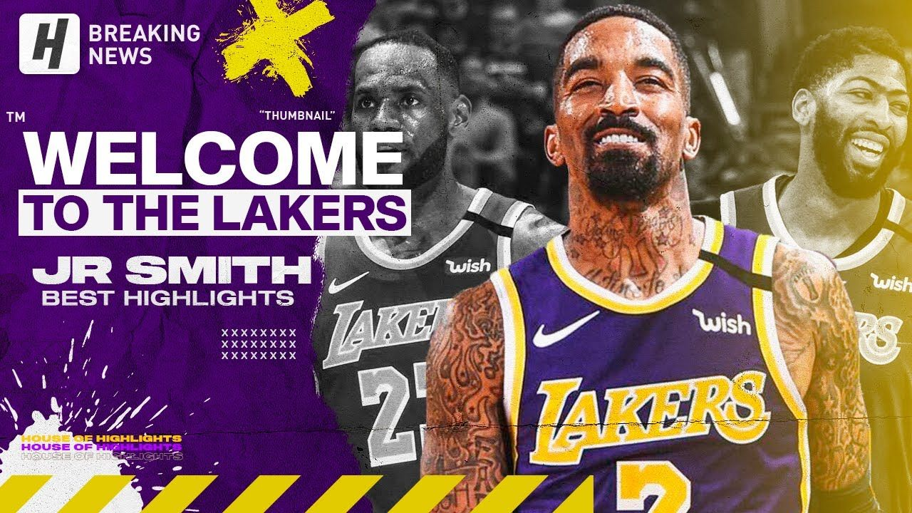 Jr Smith Is Back Best Highlights Clutch Shots Welcome To Los Angeles In 2020 Los Angeles Lakers Basketball Los Angeles Lakers Lakers