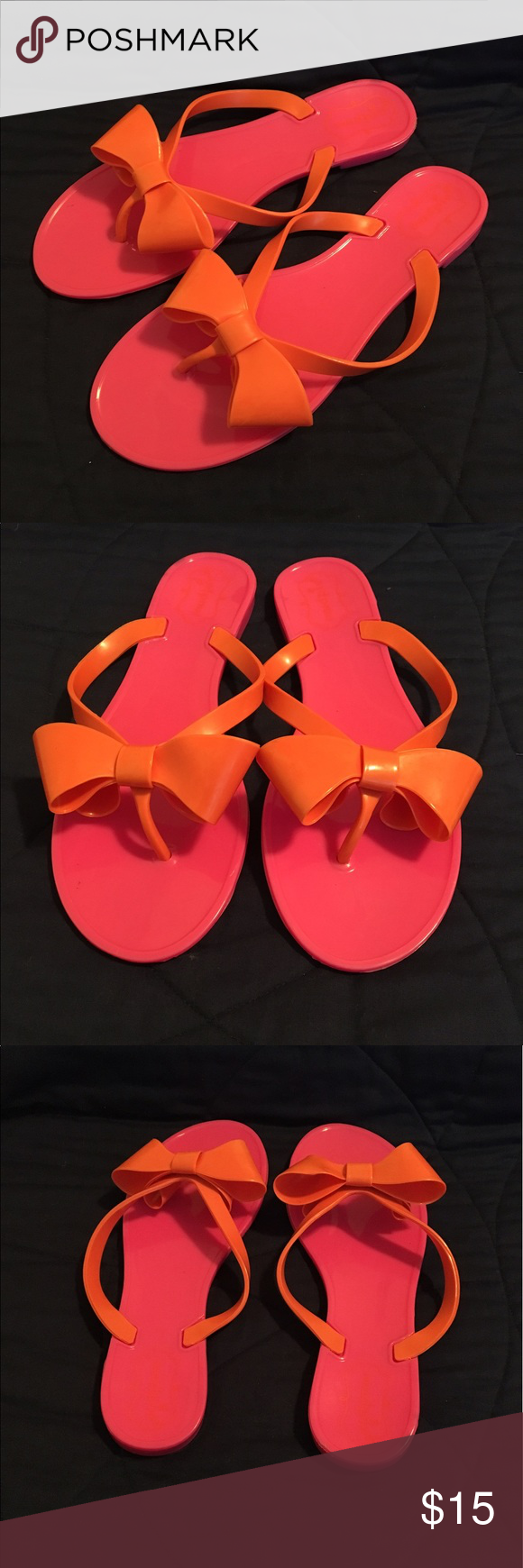 e543265cc924 Mud Pie bow jelly sandals