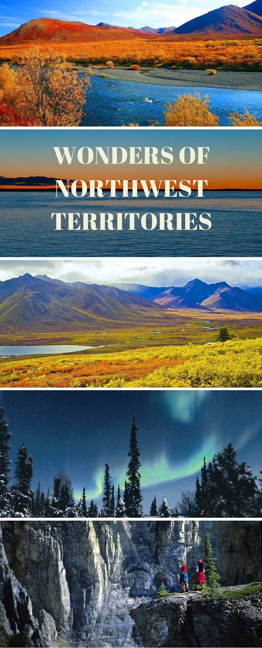7 Wonders of Northwest Territories, Canada