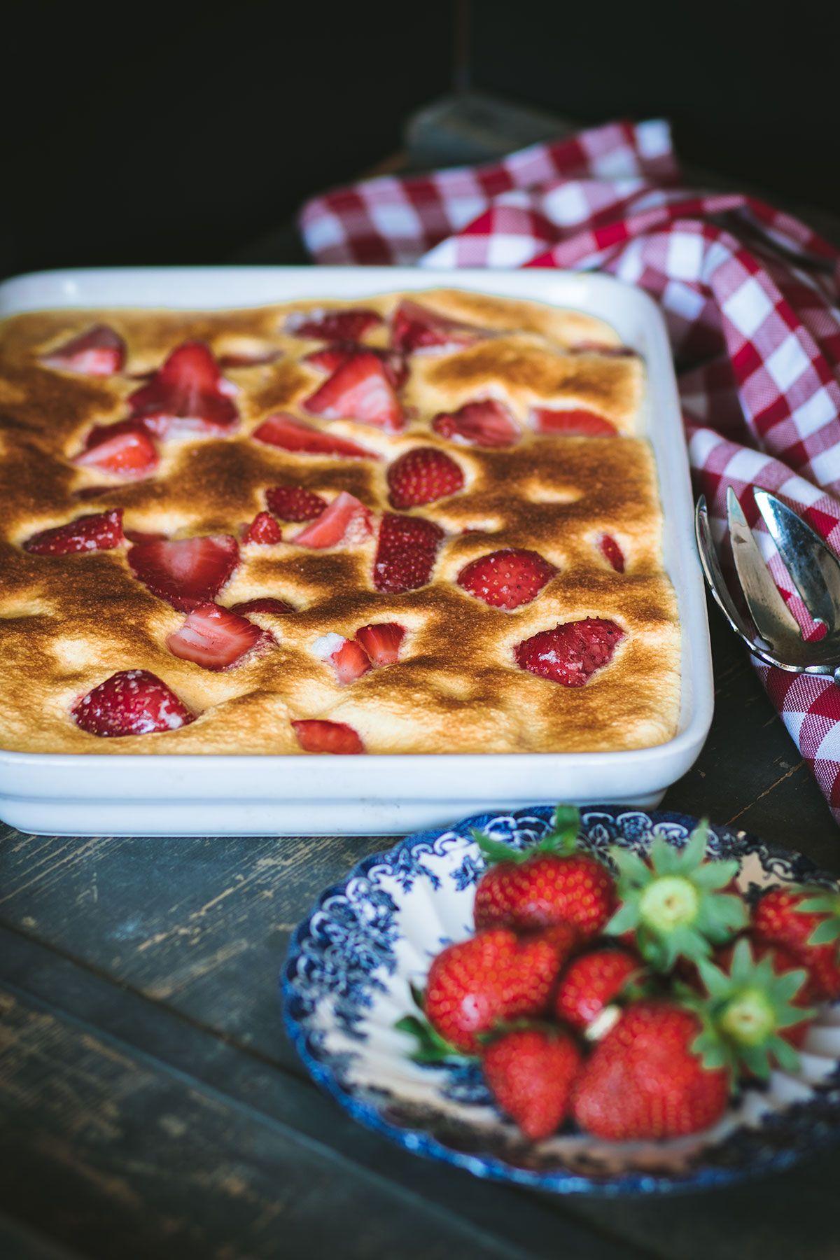 Recette de gratin aux fraises transmise par les grand