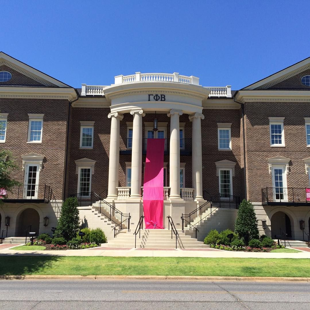 new sketch for the entry at gamma phi beta alabama's new sorority