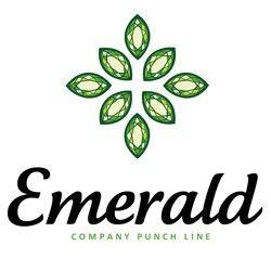 Emerald Logo | Logos | Logos, Logo templates, Emerald