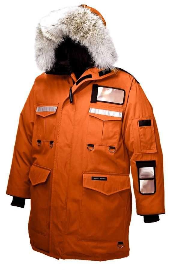 18fbfcfed2f0 Mens Canada Goose Resolute Parka Sunset Orange