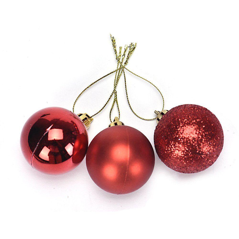 Ximandi Clearancechristmas Ball Ornaments Shatterproof Christmas Decorations Tree Balls Christmas Decorations Tree Plastic Christmas Tree Xmas Tree Decorations